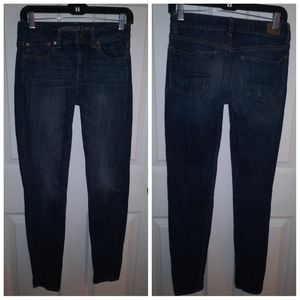 American Eagle Outfitters jeans / hi rise skinny